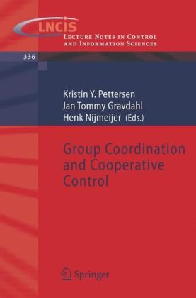 Group Coordination and Cooperative Control
