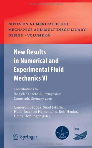 New Results in Numerical and Experimental Fluid Mechanics VI: Contributions to the 15th STAB DGLR Symposium Darmstadt, Germany 2006 (Notes on Numerica