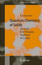 Quantum chemistry of solids : the LCAO first principles treatment of crystals