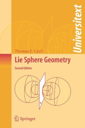 Lie Sphere Geometry: With Applications to Submanifolds