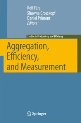 Aggregation, Efficiency, and Measurement (Studies in Productivity and Efficiency)