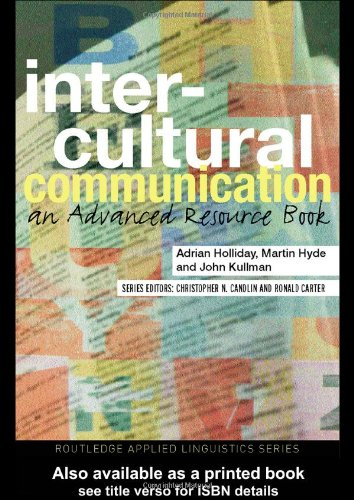 Intercultural Communication: An Advanced Resource Book (Routledge Applied Linguistics)