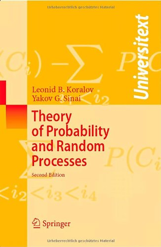 Theory of Probability and Random Processes (2nd edition)