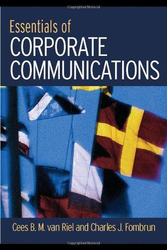 Essentials of Corporate Communication