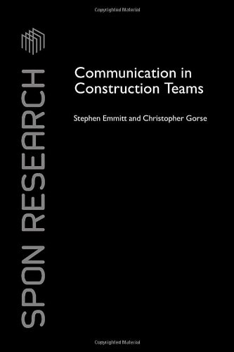 Communication in Construction Teams (Spon Research)