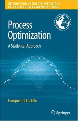Process optimization: A statistical approach