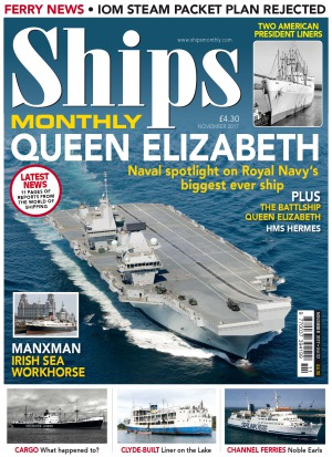 Ships Monthly -  November 2017