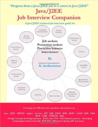 Java/J2EE Job Interview Companion