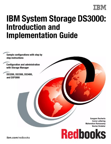 IBM System Storage Ds3000: Introduction and Implementation Guide