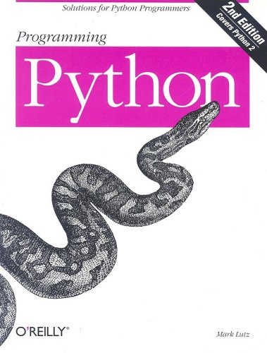 Programming Python, with CD