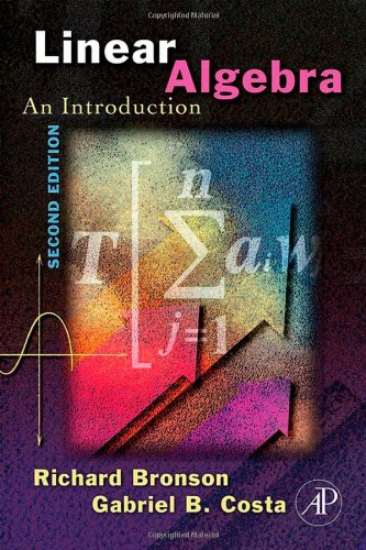 Linear algebra: An introduction