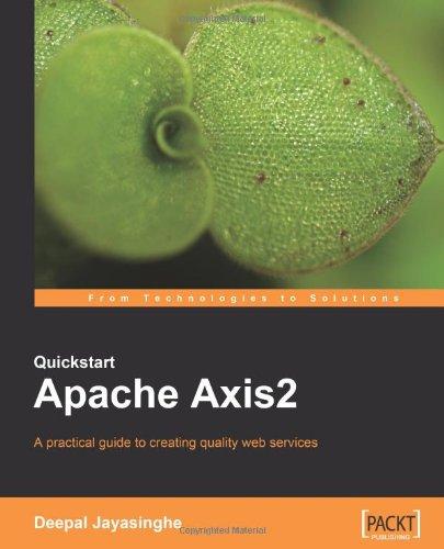 Quickstart Apache Axis2