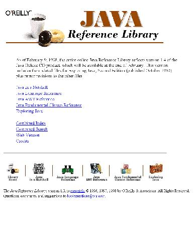Java Reference Library 1.3