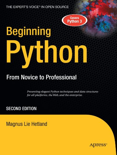 Beginning Python from Novice to Pro