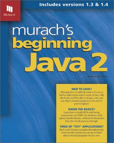 Murachs beginning Java 2