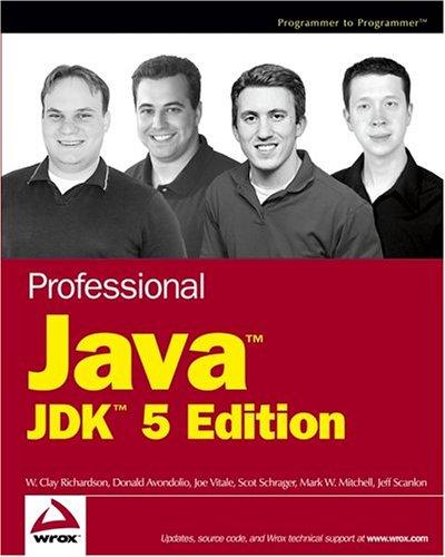 Professional Java, JDK