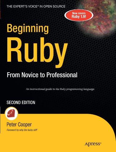 Beginning Ruby From Novice to Professional