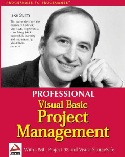 Professional Visual Basic 6 Project Management