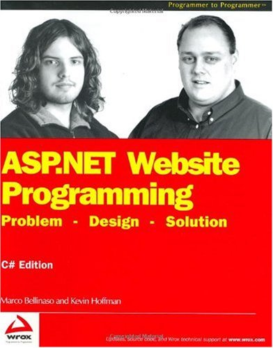 ASP.NET Website Programming: Problem - Design - Solution, C# Edition