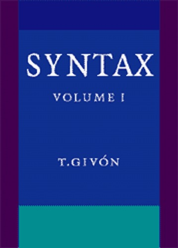 Syntax: An Introduction
