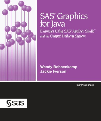 SAS Graphics for Java: Examples Using SAS Appdev Studio and the Output Delivery System