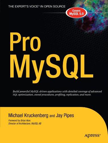 Pro MySQL