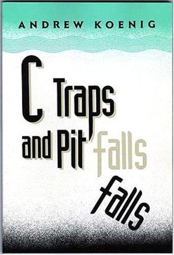 C traps and pitfalls