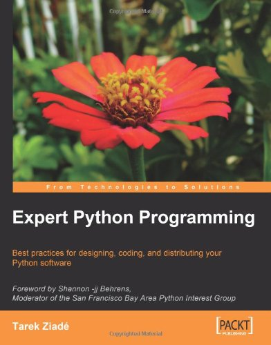 Expert Python programming learn best practices to designing, coding, and distributing your Python software
