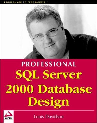 Professional SQL Server 2000 Database Design