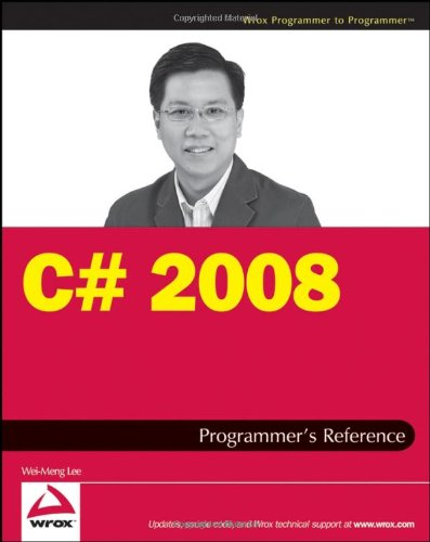 c# 2008 programmers reference (wrox programmer to programmer)