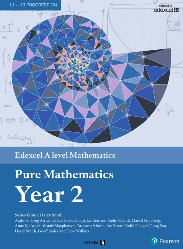 Edexcel A level Mathematics Pure Mathematics Year 2