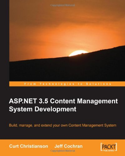 ASP NET 3.5 CMS Development