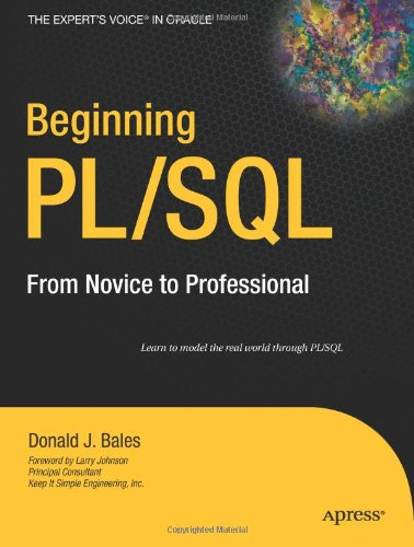 Beginning PL-SQL - From Novice to Pro