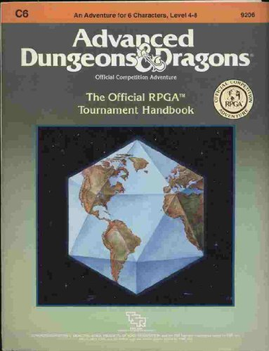 Official RPGA Tournament Handbook (Advanced Dungeons and Dragons module C6)