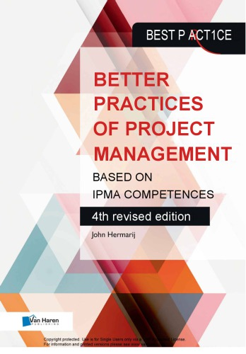 Better Practices of Project Management Based on IPMA Competences - ICB Version 4