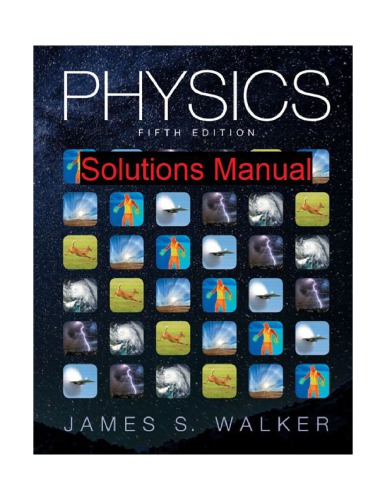 Physics-Instructor's Solutions Manual