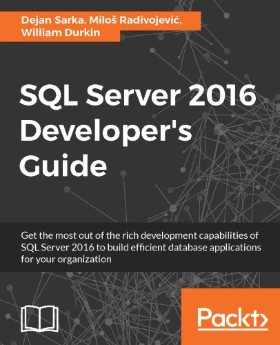 SQL server 2016 developer guide