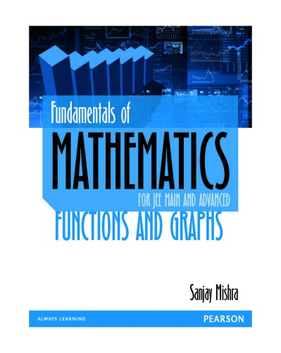 Fundamentals of Mathematics IIT JEE Functions and Graphs