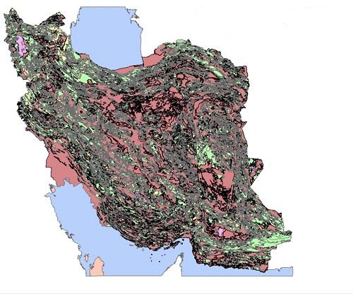 لایه خاک ایران