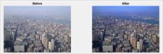 دانلود پروژه کد متلب مه زدایی تصویر