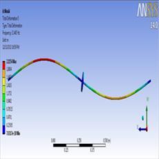 دانلود پروژه بررسی مدهای ارتعاشی یک میله دوار به صورت عددی و آزمایشگاهی