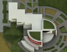 دانلود پروژه پایان ترم کارشناسی معماری+رساله(موزه  مردم شناسی آذربایجان)