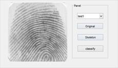 دانلود برنامه طبقه بندی اثر انگشت در نرم افزار متلب به صورت GUI + فایل های دیتابیس + فیلم آموزش استفاده