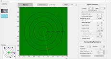 دانلود کد متلب شبیه ساز رادار به صورت GUI