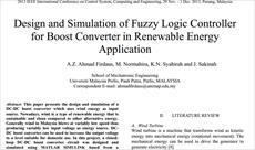 دانلود ترجمه مقاله الکترونیک قدرت و انرژی های نو 2013 IEEE