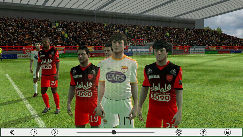 کیت جدید لباس تیم پرسپولیس برای بازی فوتبال آندروید