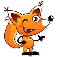 پک  آماده ساخت استیکر 20 عددی روباه کوچولو