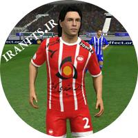 کیت لباس و لوگو سپیدرود رشت فصل 96_97 برای بازی فوتبال DLS18 و  FTS15