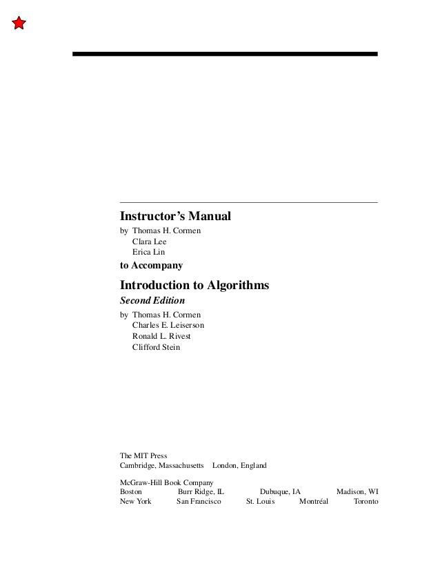 Solution To CLRS Excercise - حل المسائل کتاب مقدمه ای بر الگوریتم ها (زبان اصلی)