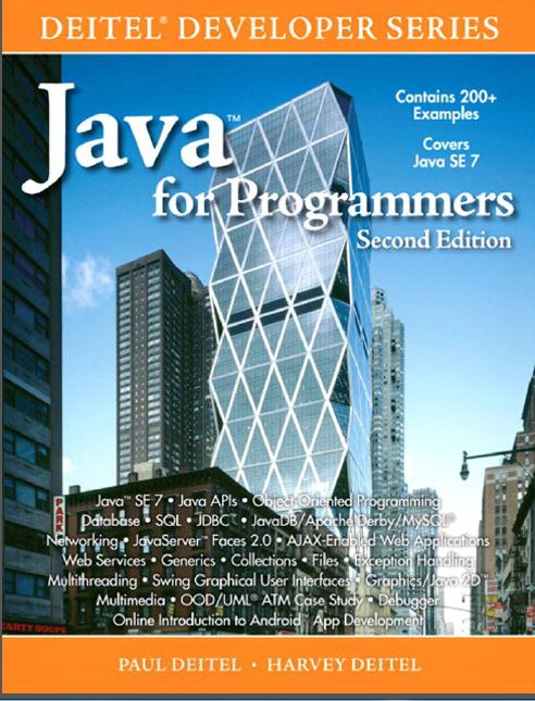 Deitel Developer Series Java For Programmers 2nd Ed 2012 (زبان اصلی)